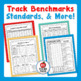 Standards-Based Student Data Notebook (Printable), 7th Grade ELA, OHIO