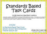 Standards Based Task Cards 5.NF.B.3