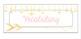Standards Bulletin Board Headers - Pink & Gold Themed, Editable