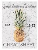 Standards Cheat Sheet (11-12)