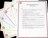 Standards Checklist Poster Set - 4th Grade ELA
