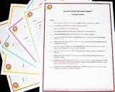 Standards Checklist Poster Set - 5th Grade ELA