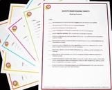Standards Checklist Poster Set - 8th Grade Math