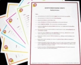 Standards Checklist Poster Sets - 4th Grade Combined ELA and Math