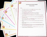 Standards Checklist Poster Sets - 6th Grade Combined ELA and Math