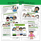 MATH PRACTICE Posters and  Student Activity Kit