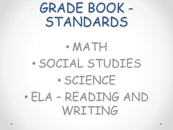 Standards Grade Book