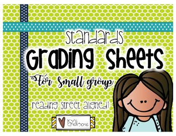Standards Grading Sheets for Small Group - Language Arts