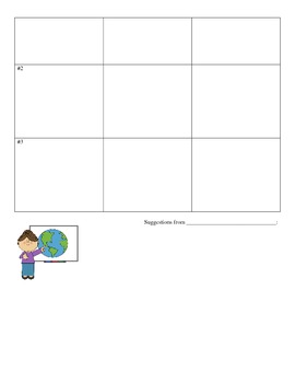Standards Mastery Record Sheet - Student Copy