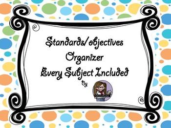 Standards/Objectives Freebie