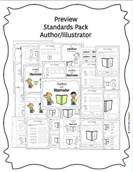 Standards Pack: Author and Illustrator