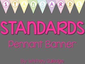Standards Pennant Banner
