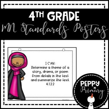 Standards Posters - 4th Grade Bundle