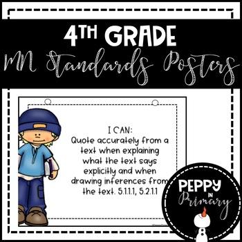 Standards Posters - 5th grade Bundle