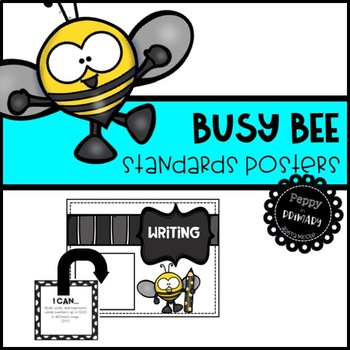 Standards Posters - Busy Bee Edition