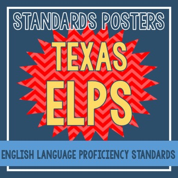 Standards Posters - ELPS (Red Chevron)