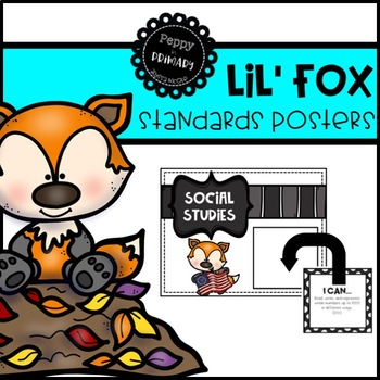 Standards Posters - Lil' Fox Edition