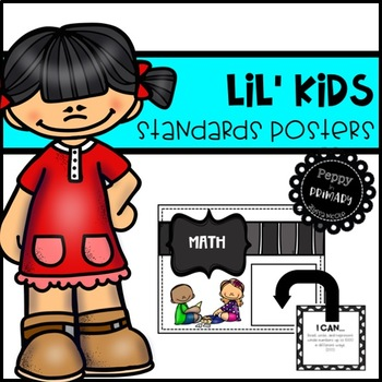 Standards Posters Lil' Kids Edition