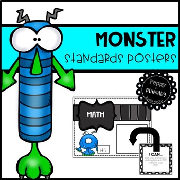 Standards Posters - Monster Edition
