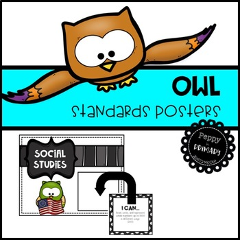 Standards Posters - Owl Edition