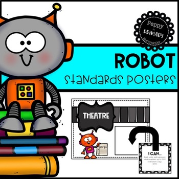 Standards Posters - Robot Edition
