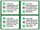 Standards/ Power Goal Cards and Editable Name Cards 2Green Level