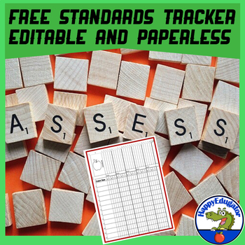 Standards Tracker - FREE Standards Checklist
