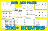 Standards Warm-Ups for Kindergarten - 500 Printable Activi