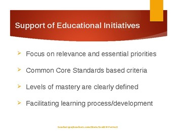 Standards-based Assessments: Purposes, Feedback, and Use of Rubrics