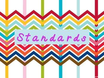 Standards classroom hanger