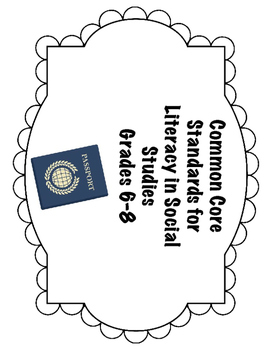 Standards for Literacy in Social Studies