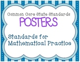 Standards for Mathematical Practice CCSS Posters