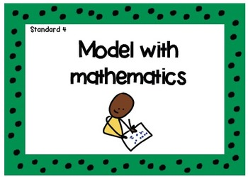 Standards for Mathematical Practice Charts