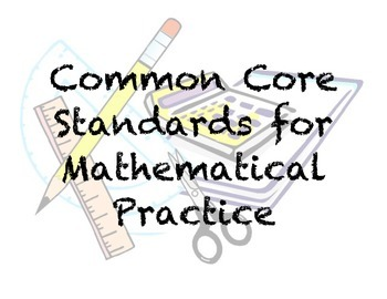 Standards for Mathematical Practice Classroom Posters