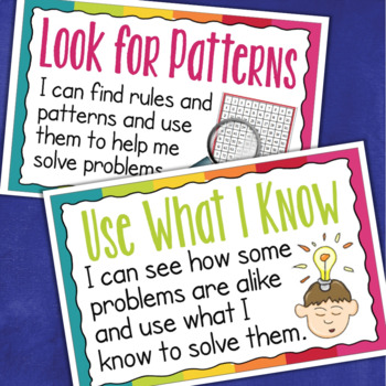 Standards for Mathematical Practice I Can Statements