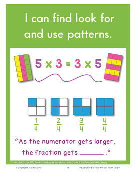 Standards for Mathematical Practice Posters - 3rd Grade