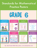 Standards for Mathematical Practice Posters for 6th Grade