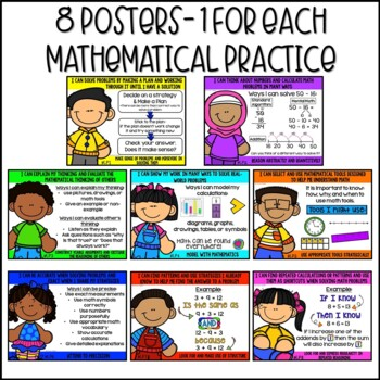 Standards for Mathematical Practice Posters Freebie