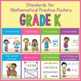 Kindergarten Standards for Mathematical Practice Posters