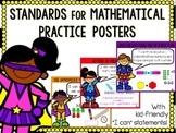 Standards for Mathematical Practice Posters- Primary Friendly {Superhero Theme}