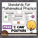 "Standards for Mathematical Practice Posters and ""I Can"" St"