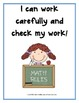 Standards for Mathematical Practice - Primary math posters