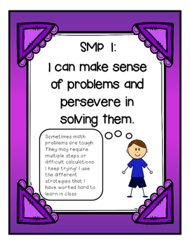 Standards for Mathematical Practice (SMP) Posters