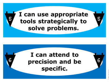 Standards for Mathematical Practice Sentence Starters