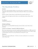 Common Core Math Practices - The Handshake Problem