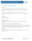 Common Core Math Practices - The Handshake Problem
