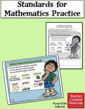 Standards for Mathematical Practice by Karen's Kids (Digit