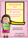 Standards for Mathematical Practice for Interactive Notebooks