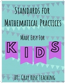 Standards for Mathematical Practices- Bulletin Board Resource