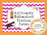 Standards for Mathematical Practices-Kid Friendly Posters